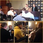 Thanks to the #Mizzou Fans who came out to the bowl announcement. Excited to head to the @attcottonbowl. GP http://t.co/hKKyMdMSzO