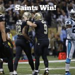 RT @Saints: #Saints WIN! Saints beat the Panthers 31-13 to improve to 10-3 #CARvsNO http://t.co/jCmHujbarE