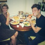 RT @JoeyEssex_: Room service on first night #foodglourousfood http://t.co/grIEvM0E0S