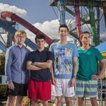 "RT @kScodders: ""@digitalspy: Heres the first image from The Inbetweeners Movie 2! http://t.co/JAGccYeRX5"" thats the ride I got stuck in in Louisianna!"