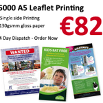 5000 A5 Leaflets coloured only for Euro 82,Order Online, #print365 #ireland #irishbizparty http://t.co/lZEDsUN7yt http://t.co/Eyp9kQol2p