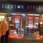 Tiger Town! @ClemsonTigers fans, be looking for the orange jackets on campus today! @OhioStAthletics your next! http://t.co/BkXL42ICxE