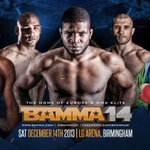 Theres 5 days until #BAMMA14 takes place at @TheLGArena #Birmingham and is broadcast live on @channel5_tv. @BAMMAUK http://t.co/keb6aOKBKv