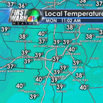 11 AM temps in CLT.....cold! http://t.co/qxswHn7iyS