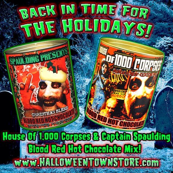 "Nothing says ""the Holidays"" like Capt. Spaulding's hot cocoa! http://t.co/gK9iv08kAv #houseof1000corpses @RobZombie http://t.co/Oxu3aUVRkj"