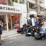 RT @MikaIhamuotila: This is not #Madonna greeting fans but #Marimekko opening a store in Taipei. #Finland rocks! http://t.co/kmpzh5hi1Z