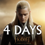RT @TheHobbitMovie: In 4 days… #TheHobbit http://t.co/HNQ7fqQmB1