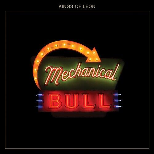 """Kings Of Leon's """"Mechanical Bull"""" is nominated for Best Rock Album in the 2014 GRAMMY Awards. http://t.co/xxwz95srwk"""