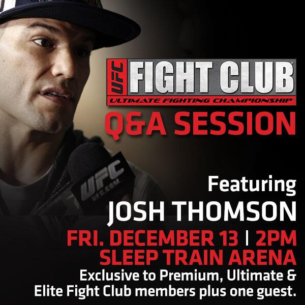 Happy #FightWeek! Hope to see lots of you on Friday for the FC Q&A w/ @THEREALPUNK! Doors for FC are @ 1pm! http://t.co/57SiBYBtEU