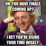 First day of finals is over! http://t.co/7gzEK4QAuY