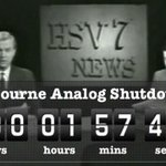 RT @PeterDoherty7: 57 years after it began - analog television ends in Australia TODAY. Melbourne #shutdown 9am http://t.co/aLAvTYCBp6