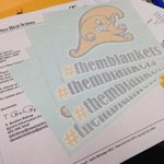 So stoked about my special delivery from @themblankets. Im going to stick these all over the C-L. http://t.co/kH5kEQUMFh