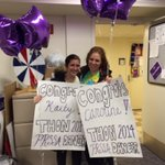 Congratulations to our @THON 2014 dancers @kaitycashPR and @Caroline_PSU! http://t.co/Xy0CSXIuRG