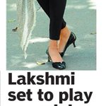 RT @sillijo: @LakshmiManchu set to play a model DC from 10th Dec http://t.co/t1bd98boIJ