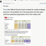 #AusPol Alarmist Andrew Bolt blames hysterical opposition from media Left for bad Newspoll result: http://t.co/TrZhUeyM6H