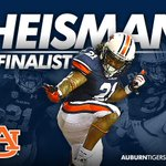 Join us in congratulating #Auburns Tre Mason, heading to New York City as a Heisman Trophy finalist. WAR EAGLE TRE! http://t.co/0hqnfWCYlR