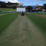 Basin deck 24 hours out, pace bowlers salivating. http://t.co/RvHzd5753T