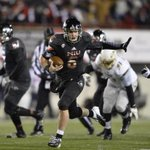 Northern Illinois QB Jordan Lynch is a Heisman finalist. He started his campaign earlier this year in this picture. http://t.co/RCqAkeml3E