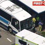 RT @9NewsBrisbane: JUST IN: Three people have been injured after two buses collided on the Pacific Motorway #9NEWSat6 http://t.co/saSISRNAu3