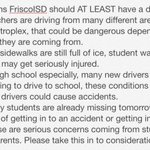 RT @thenameiskattt: RT this for FriscoISD admins to see! @friscoisd http://t.co/UcX5N3BWyq