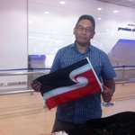 Hone Harawira is flying to Afrika on behalf of the indigenous people of NZ and the anti-apartheid movement. Amandla! http://t.co/eZgLEt82g5