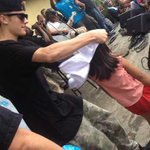 Omg @justinbieber another photo....so sweet..,#GiveBackPhilippines #MaramingSalamatBieber http://t.co/5dFbDBVvXn