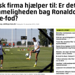 Danish company helps: The secret of @Cristiano Ronaldos soft touch? Full article in danish: http://t.co/zgfGgPsqdf http://t.co/2NrbrvA76E