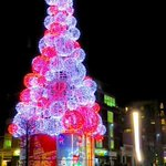The Smithfield Christmas tree in all its glory! Photo by Melanie van der Linde. http://t.co/Q2hqqv0mDv