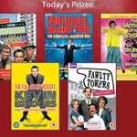 DAY 5 COMP! Were looking at the top comedy boxsets! For a chance to win this goodie bag just RT! #12DAYSOFXMAS http://t.co/j26b3BFjDe