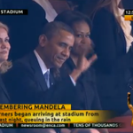 RT @hansersej: Thorning og Obama i Sydafrika RT @weeddude: Obama has arrived! http://t.co/8W04MIOIEA