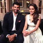 """@karanjohar: Aashiqui in the Koffee house!!! Aditya Roy Kapur and Shraddha Kapoor.....#KoffeewithKaran http://t.co/jEFAhS1gk3"""