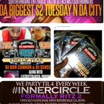 The offical (21+) #ATLRecordPool AfterParty #innercircle aka #ritz2 #JUICECREW $2 TUESDAYS $2 drinks & food http://t.co/TZWJz5fbNz ]]]