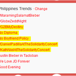 """@ColaBoink: * #G2BMyDestiny * No Diploma * No Boyfriend Policy #KathNiel related TRENDS Part 1 http://t.co/i1eTgBUnZz"""