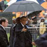 """@RyanvdBotha: ""@Fixsacious: But this man has MAD swag :-) #MandelaMemorial http://t.co/hVP7QUDNkK"" @BarackObama"" mmmm...gets me every time"