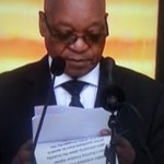 Some people are making jokes about the font size on Zumas pages. Heres a closer look. #MandelaMemorial http://t.co/StiUO5JAbD #iPadNeeded