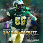 Congrats to @CSUFootball's Shaquil Barrett, named @mountainwest Defensive Player of the Year! #CSURams http://t.co/a3di86i19J