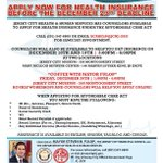 RT @JC_Gov: Need Help Signing Up For Obamacare? We have the people you need! http://t.co/prC881Rix3