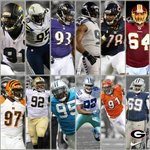 #UGA currently has the most Defensive Linemen in the #NFL with 12! The next closest team has 7. #DawgsOnTop http://t.co/8SVy4wwz99