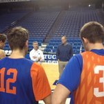 Broncos getting a pep talk from the one and only @JayBilas after shoot around... http://t.co/Jovd6VXNZV