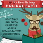 Join us & some of our YA authors for a holiday party next Tuesday! Ugly sweater optional. > http://t.co/t392JNrFnE http://t.co/xD90bnXkKH