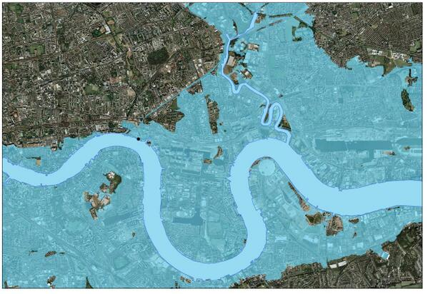 lucky but for how long? MT @PD_Smith: London areas which would've flooded in 12/2013 if not for Thames barrier http://t.co/F4r91a7BEC