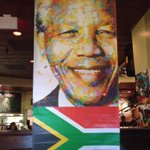 RT @therealv_j: RT @busboysandpoets: Nelson Mandela art work hanging at 5th & K #Mandela http://t.co/rkPecmtwuA