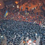 RT @carlbildt: Eurasia versus Europe in streets of Kiev tonight. Repression versus reform. Power versus people. http://t.co/vSAVXZap5E