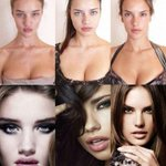 """@BestProFitness: Victorias Secret models before/after makeup and photoshop http://t.co/GpVs88tUQR""Ive lost my trust for all women."