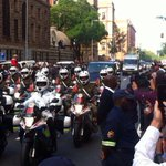 #Madibas body being transported through the streets of Pretoria in procession http://t.co/rGJK2q1JDp