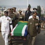 Photo: Nelson #Mandelas coffin carried into Union Buildings, in Pretoria, for lying-in-state http://t.co/vwktxI3W7N http://t.co/WL5f7KvhoP