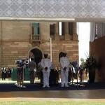 Photo: Nelson #Mandela's glass-topped coffin at Union Buildings - via @justteaplease http://t.co/HppqG92hTH