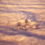 RT @jamesdolphin1: Foggy London this morning from the air... http://t.co/C8nm3JWMhp