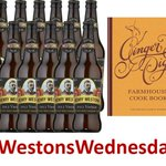 #WestonsWednesday WIN 12 bottles of Henry & signed copy of the Ginger Pig Farmhouse Cookbook Follow & RT to enter http://t.co/TtHYXd6xNa