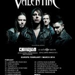 【NEWS】  BULLET FOR MY VALENTINEのEUROPE TOURに出演決定!   coldrain初の海外ツアーは2014年2月からスタート! http://t.co/oxA6ncPrcy